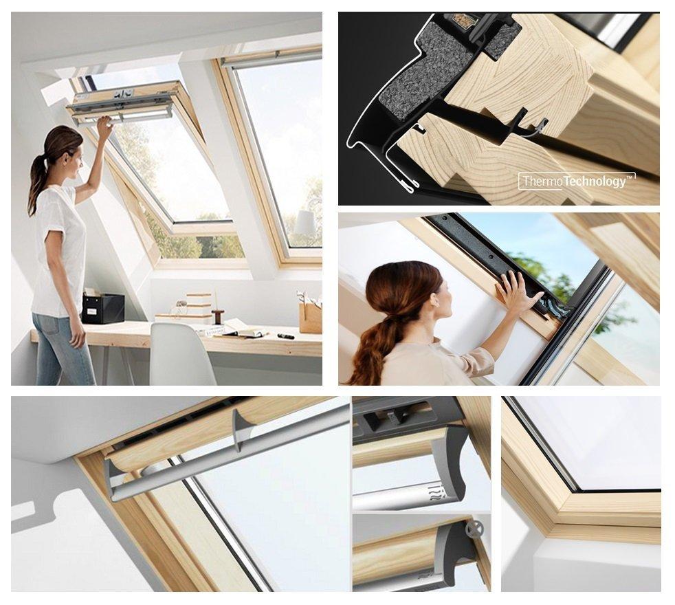 dachfenster velux ggl 3068 energie 3 fach verglasung. Black Bedroom Furniture Sets. Home Design Ideas