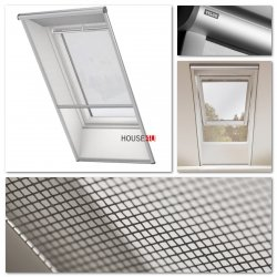 insektenschutzrollo velux innenzubeh r zubeh r f r dachfenster. Black Bedroom Furniture Sets. Home Design Ideas