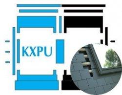 Kombi-Eindeckrahmen Okpol KXPL für flache Biberschwanzeindeckungen