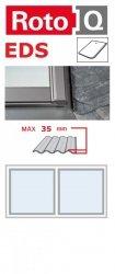 Kombi-Eindeckrahmen Roto Q-4 EDS 2/1 Eindeckrahmen - für Flachdecken und profilierte Eindeckmaterialien bis max. 35 / Dachziegel oder Bitumenschindeln Schiefer