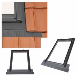 Eindeckrahmen Rooflite TFX Ziegel Für flache und profilierte Eindeckmaterialien Für Ziegel und Profilmaterialien 16-50 mm