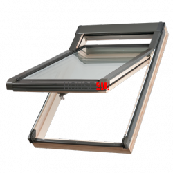 Dachfenster Okpol ISH E2 Hoch-Schwingfenster Aus Holz