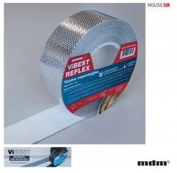 """MDM® ViBEST REFLEX Reparaturband speziell für Dampfsperrfolien vom Typ """"Reflex"""", 50mm x 25m PP-Spinnvlies, ViBEST Klebebaender Unterdeck-Unterspannbahnen"""
