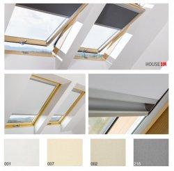 Solar-Verdunkelungsrollo Fakro ARF Fakro Zubehör für Dachfenster I PREISGRUPPE; Grau, Weiß, Beige, Dunkelblaue Automatisches Solarrollo