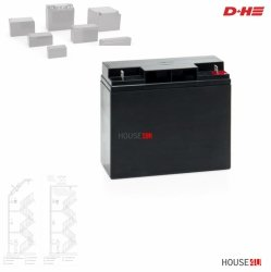 Akku Typ 5 D+H für D+H RWA-Zentralen  18 Ah