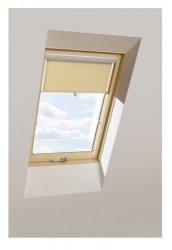Sichtschutzrollo KRONmat AUB Beige für Velux, Fakro, RoofLITE, OptiLight,
