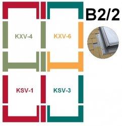 Kombi-Eindeckrahmensystem Fakro KSV B2/2 Für flache Eindeckmaterialien