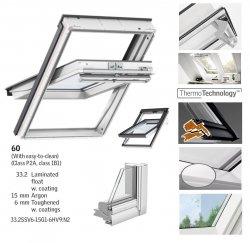 VELUX Schwingfenster GGU 0060 5-STAR aus Kunststoff 5 THERMO PLUS