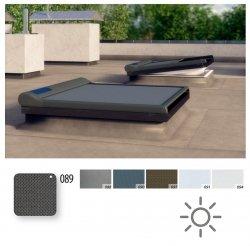 Netzmarkise Fakro AMZ/F Solar Stoff mit 10%-iger relativer Öffnungsweite
