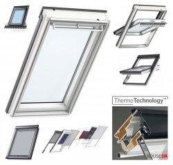 VELUX Original  Dachfenster GGU 0050 Uw=1,3 Schwingfenster aus Kunststoff Alternative fur THERMO-STAR  Standard Thermo-Technology (EU-Modell)
