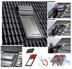 Fensterlüfter VELUX ZOV Smart Ventilation für Schwingfenster GGU/GGL