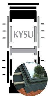 Kombi-Eindeckrahmen Okpol KYSU Universell www.house-4u.eu