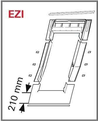Eindeckrahmen Roto EDR ZIE für profilierte Eindeckmaterialien ohne WD www.house-4u.eu