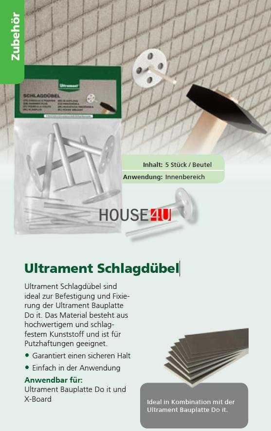 Schlagdübel Ultrament Do-it www.house-4u.eu