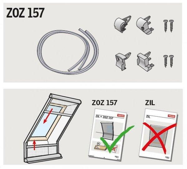 VELUX Verbindungsset ZOZ 157 Adapter für VELUX Insektenschutzrollos