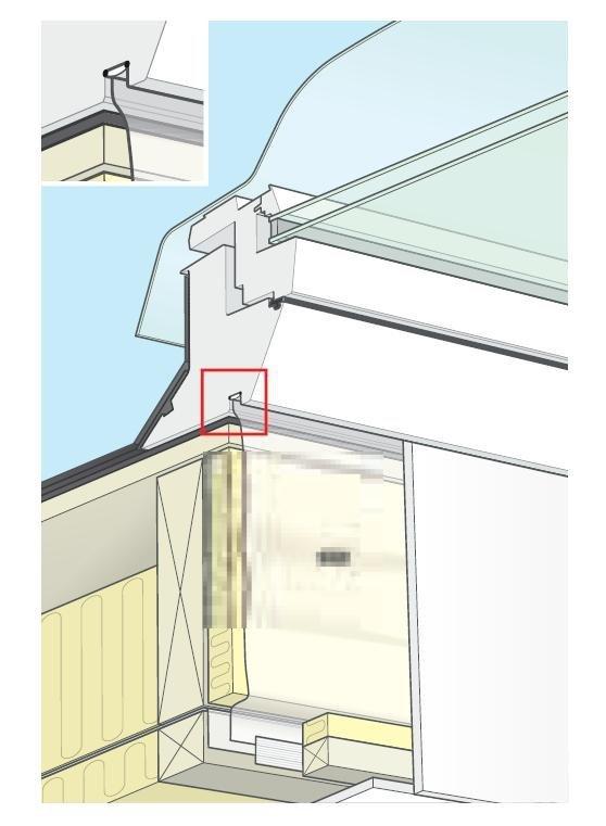 VELUX BBX 0000 für Flachdach-Fenster Dampfsperrschürze