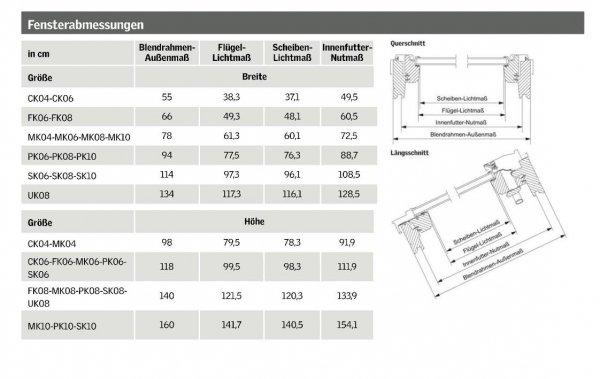 Dachfenster VELUX GPU 0070 Klapp-Schwingfenster Kunststoff-Fenster mit Riesen-Öffnungswinkel THERMO Verglasung www.house-4u.eu