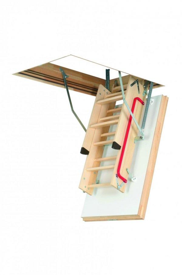 Bodentreppe FAKRO LWT energiesparende Bodentreppe aus Holz U=0,51 W/m²K www.house-4u.eu
