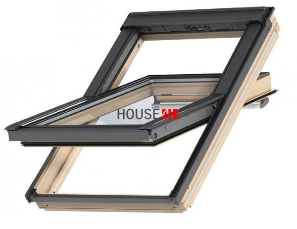 VELUX SchwingfensteR GGL 3060 5-STAR Holz klar lackiert www.house-4u.eu
