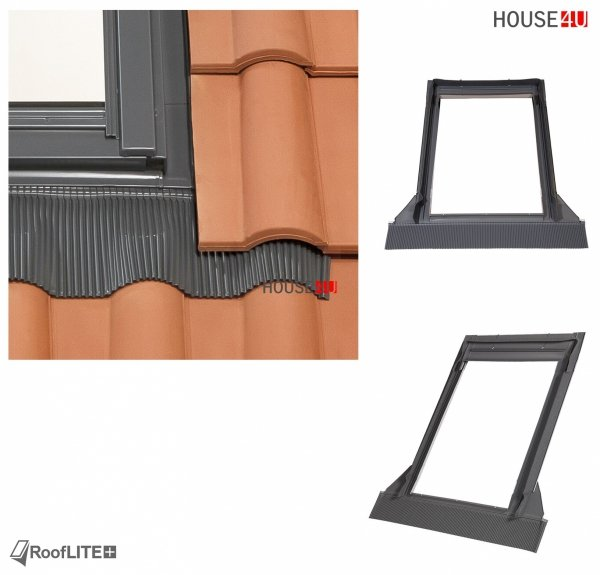 Werbeset RoofLITE TRIO PVC APY + TFX + SSR  Gratis: RUC + IFC 3-fach Dachfenster Schwingfenster aus Kunstoff mit Eindeckrahmen, Solar-Außenrollladen und GRATIS ISOLATION-SET IFC + RUC 24-05 / 30-06-2021