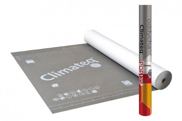 135g Unterspannbahn Wabis Membrane Climateq POP 135 135g/m² Reißkraft 260/170 Sd 0,02 -40/+120°C Unterspannbahn Hochdiffusionsoffen (75m²) www.house-4u.eu