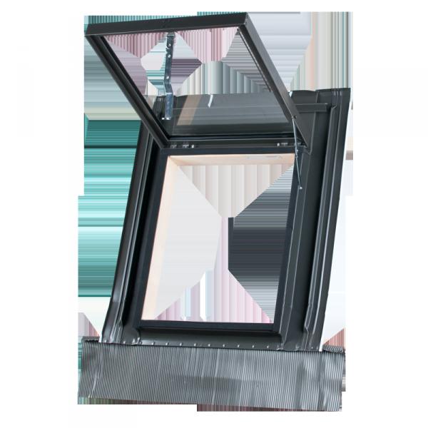 Ausstiegsfenster MDM/ Okpol 45 x 55 cm - Klapp-Dachluke  Dachausstiegsfenster Dachluke für ungeheizte Räume