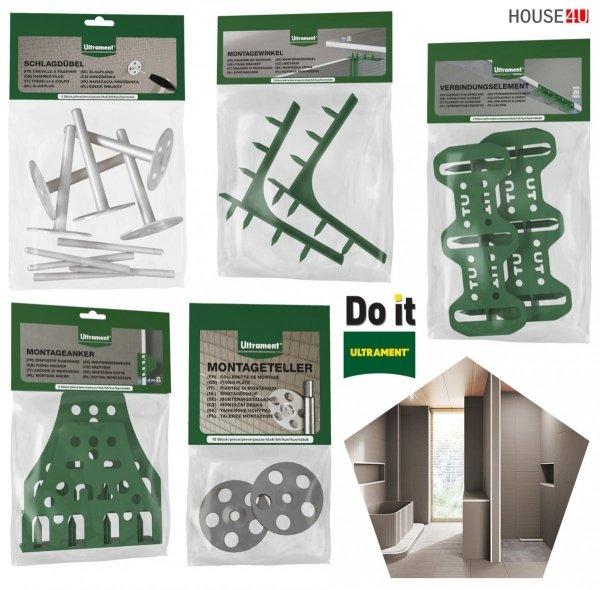 Bauplatte Ultrament Do-it 120 x 60 cm Trockenbau XPS Glasfasergewebe, Schimmelresistent & Wasserresistent, Extrem leicht, für die Anwendung im Innen- und Außenbereich, Wedi Byggeplade Kreativbauplatte
