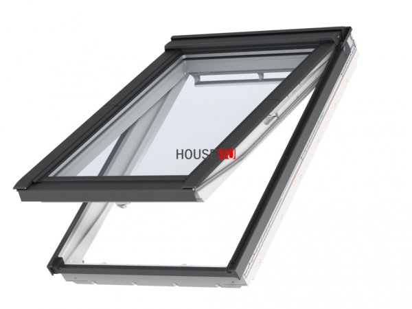 Klapp-Schwingfenster VELUX GPU 0062 SCHALLSCHUTZ Kunststoff-Fenster mit Riesen-Öffnungswinkel www.house-4u.eu
