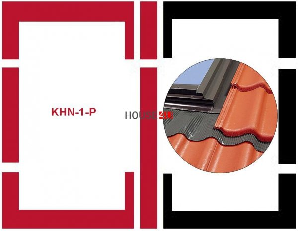 Eindeckrahmen Fakro KHN-1-P Modul für die Kombination übereinander für hochpr www.house-4u.eu
