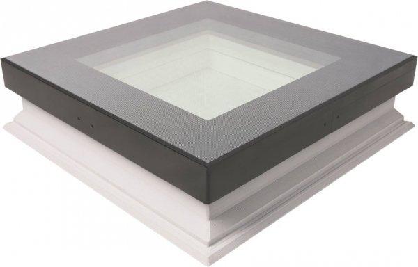 Flachdach-Fenster Fakro DXW Festelement U=0,70 W/m²K * www.house-4u.eu