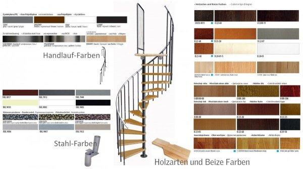 Mittelholmtreppen modular Systemtreppen ATRIUM MINI 9005 Schwarz 11 Stufen Natürliche Erle modular Systemtreppen Geschosshöhe: 222 - 300 cm Anzahl Steigungen: 11 Stk.
