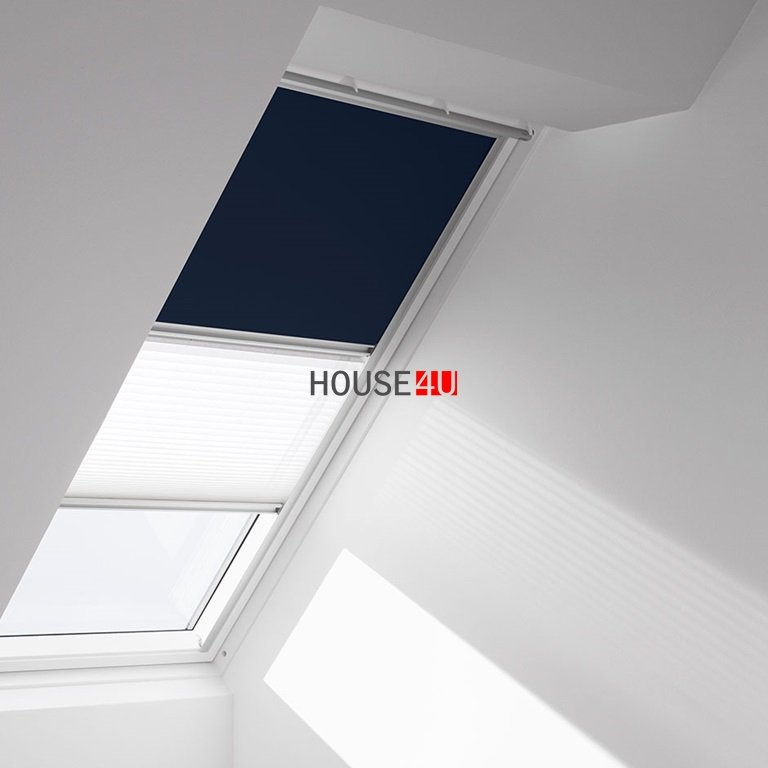 verdunkelungs rollo faltstore plissee velux dfd premium rollo velux innenzubeh r. Black Bedroom Furniture Sets. Home Design Ideas