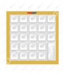 Gumowa pokrywa klawiatury do kasy fiskalnej Posnet Bingo HS