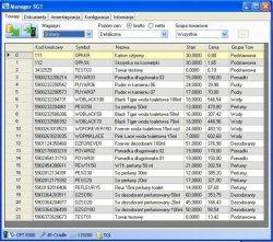 Oprogramowanie Manager SGT