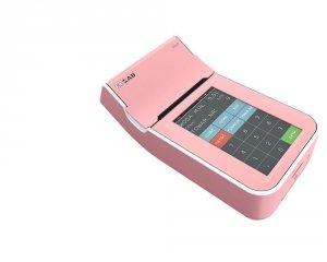 Kasa fiskalna ELZAB K10 3K różowy/biały