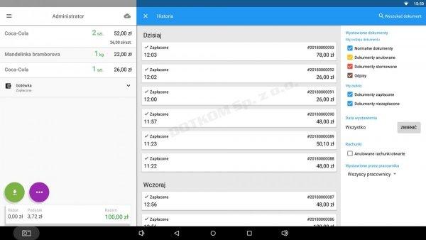 Abonament aplikacji Dotykačka KOMPLET (cena za m-c)