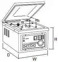Pakowarka próżniowa CAS CVP-350/MS