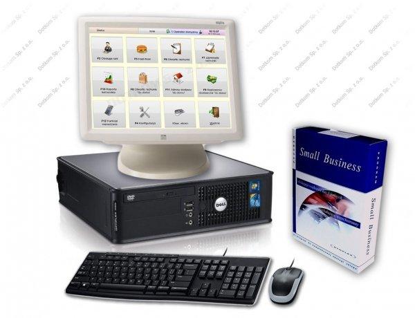 Zestaw: komputer, ekran dotykowy ELO, oprogramowanie Bistro Mini