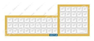 Gumowa pokrywa klawiatury do kasy fiskalnej Novitus Soleo
