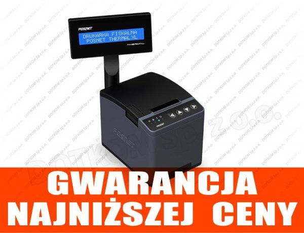 Drukarka fiskalna Posnet Thermal XL - kopia elektroniczna