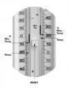TFA 10.3016 termometr zewnętrzny cieczowy ekstremalny min / max