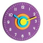 TFA 60.3015 POLO zegar ścienny wskazówkowy płynąca wskazówka średnica 23 cm