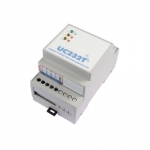 Izolator galwaniczny sygnałów RS232 Papouch UC232T przemysłowy wzmacniacz RS232
