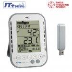 TFA 30.3039 KLIMALOGG PRO rejestrator temperatury i wilgotności data logger termohigrometr USB