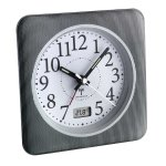 TFA 60.1502 budzik biurkowy zegar wskazówkowy sterowany radiowo