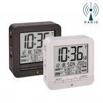 Budzik biurkowy TFA 60.2536 zegar sterowany radiowo z termometrem 4 alarmy