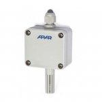 APAR AR250 higrometr przemysłowy czujnik wilgotności wilgotnościomierz przemysłowy puszkowy naścienny wyjście analogowe