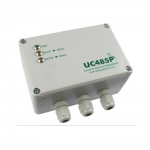 Papouch UC485P konwerter sygnału RS232 do RS485 / RS422 przemysłowy izolator galwaniczny obudowa IP65