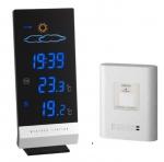 TFA 35.1093 LUMAX stacja pogody bezprzewodowa budzik nocny LED