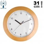 TFA 98.1065 zegar ścienny wskazówkowy sterowany radiowo 31 cm